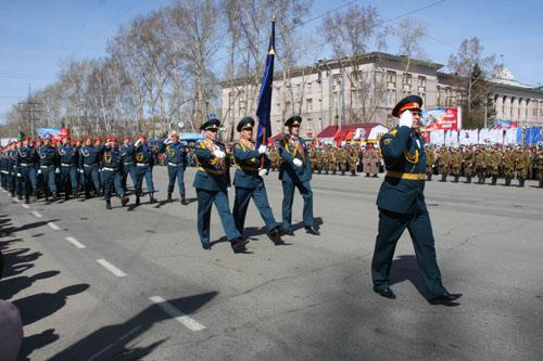 День Победы (Парад Победы в Лагерном саду)