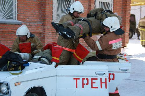 Соревнования по проведению аварийно-спасательных работ при дорожно-транспортных происшествиях
