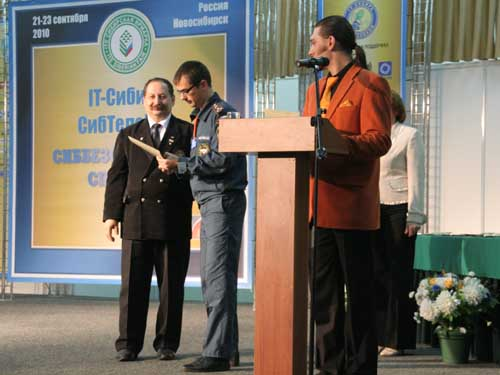 """Выставка """"Сиббезопасность Спассиб-2010"""" в г. Новосибирске"""