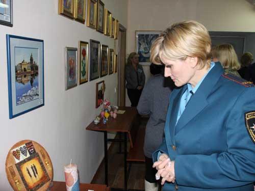 Открытие выставки творческих работ памяти В.А. Медведева.