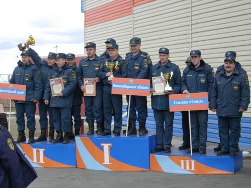 Соревнования по ликвидации последствий ДТП в г. Новосибирске 17 апреля