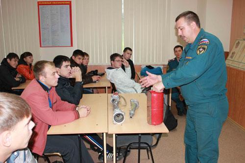 Слет студенческих добровольных пожарных дружин г. Томска. Первый день