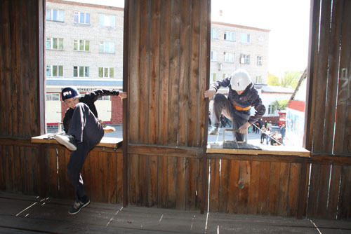 Соревнования по пожарно-прикладному спорту среди детей. Первый день