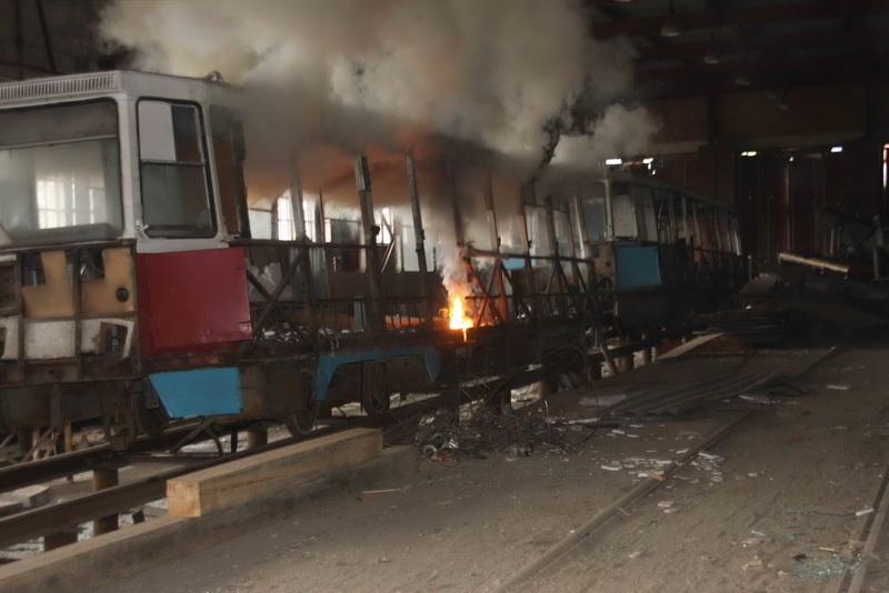 Командно-штабные учения в Трамвайно-троллейбусном управлении