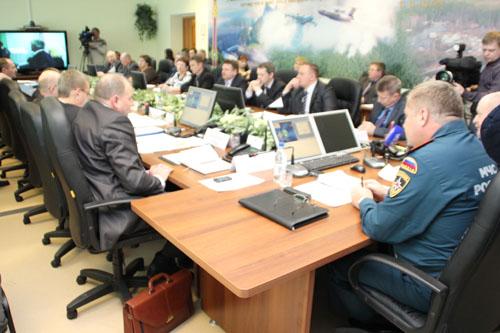 Заседание МКЧС по РАСЦО (региональной автоматизированной системы централизованного оповещения) и безопасному пропуску паводковых вод
