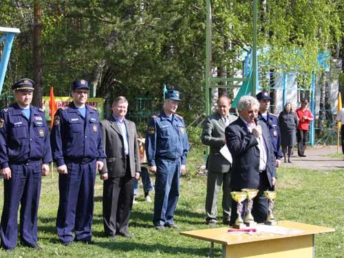 """Областные соревнования """"Школа безопасности-2011""""."""