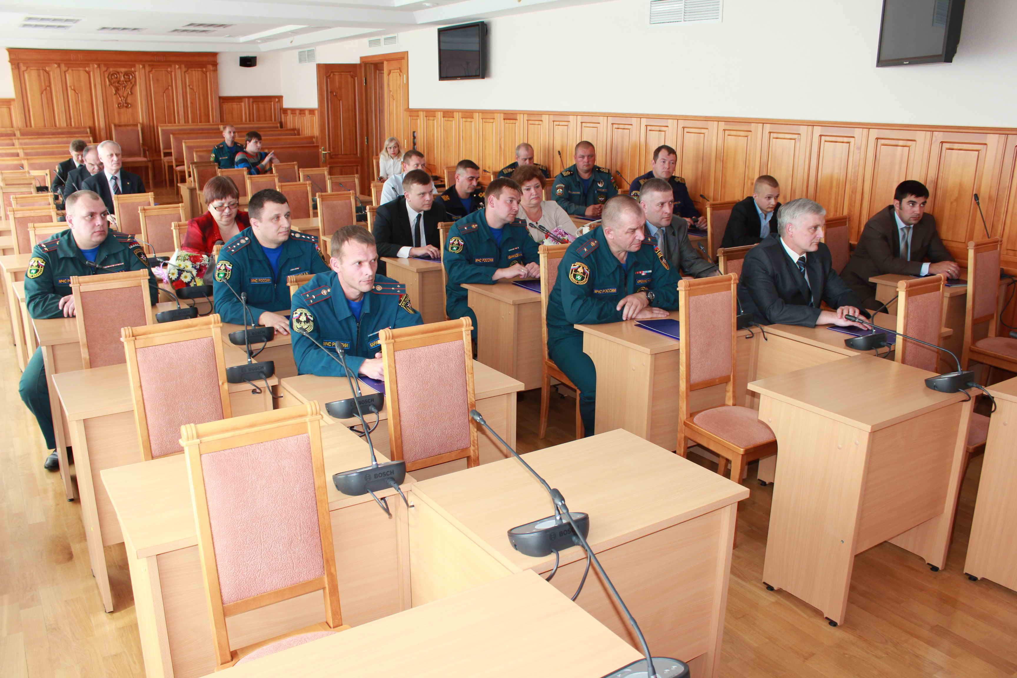 Награждение томичей, принимавших активное участие в противопаводковых мероприятиях