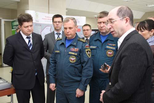 Посещение заместителем министра МЧС России А.П. Чуприяном особой экономической зоны