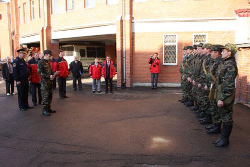 Тренировка по гражданской обороне в Главном управлении Центробанка России по Томской области