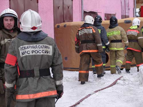 Учения в Главном управлении МЧС России по Томской области