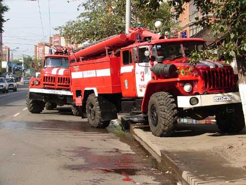 Пожар в жилом доме на пр. Ленина, 185
