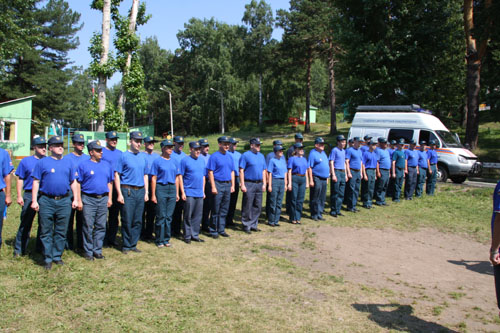 Посвящение в инспекторы государственного пожарного надзора