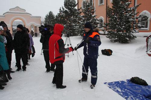 Занятие инспекторов ГИМС в Томской духовной семинарии