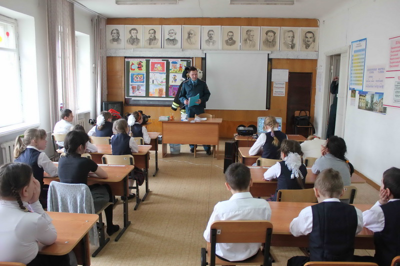 Открытый урок в школе-интернате № 22 г. Томска