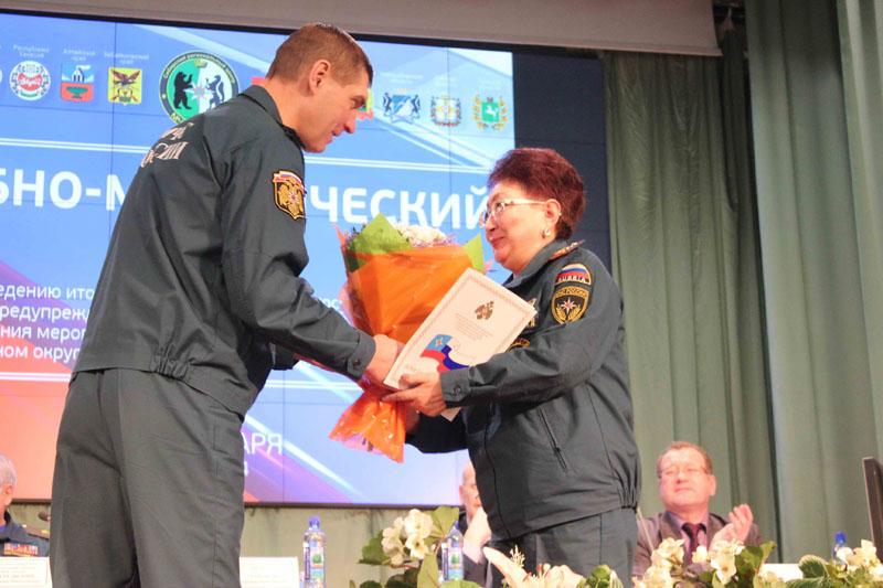 Учебно-методический сбор по подведению итогов деятельности ТП РСЧС Сибирского федерального округа. Пленарная часть