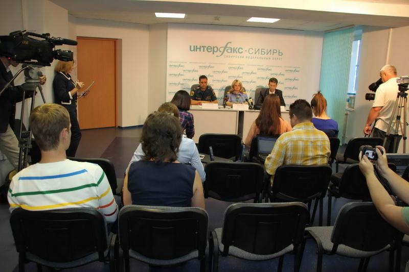 Пресс-конференция в Интерфаксе по поиску похищенной из детского сада трехлетней девочки