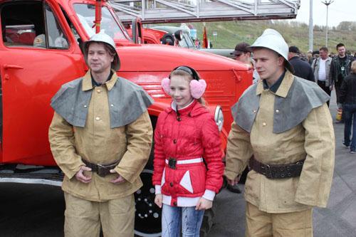 Парад ретро-автомобилей в Томске