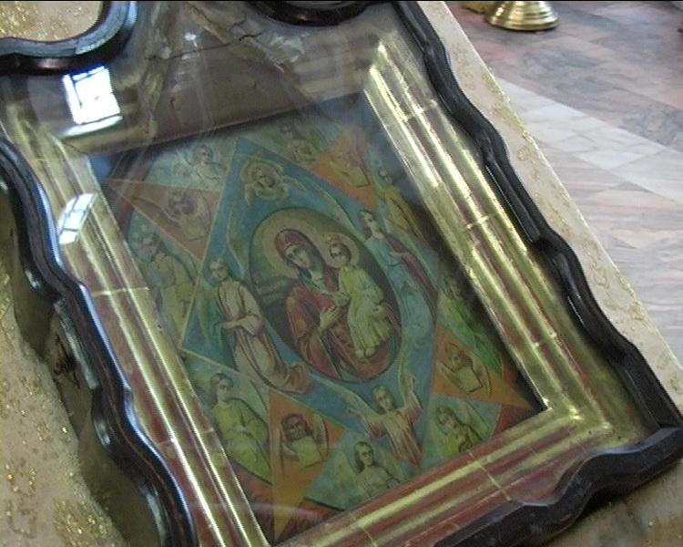 Благодарственный молебен в честь иконы Божьей Матери «Неопалимая Купина»