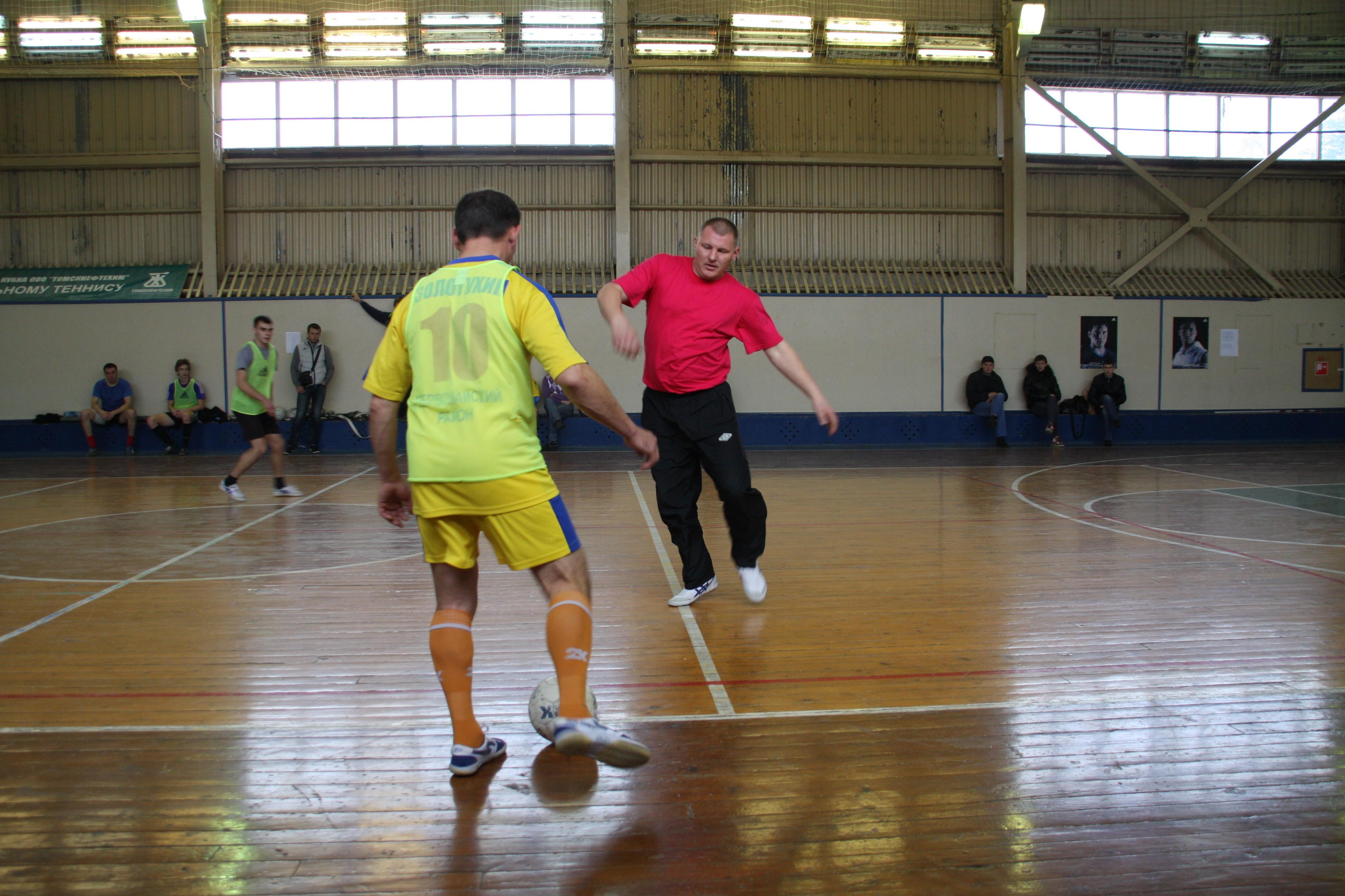 Соревнования по мини-футболу на ТНХК