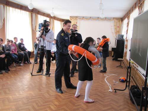 ГИМС в гостях у учащихся школы №17
