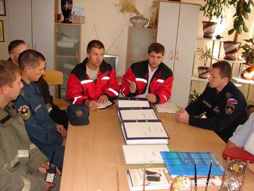 Пожарно-тактические учения в школе № 31 г. Томска