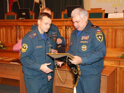 Учебно-методический сбор с руководящим составом ТП РСЧС и ГО Томской области по подведению итогов за 2011 год.