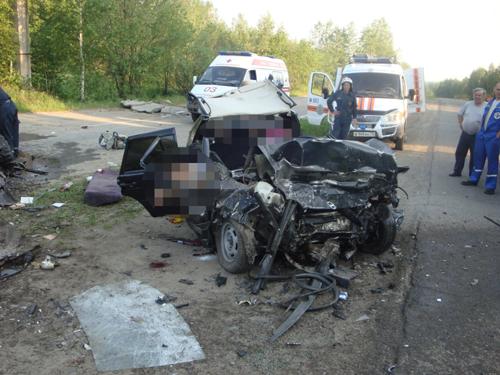 Дорожно-транспортное происшествие на Кузовлевском тракте. Погибли 6 человек.