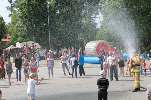 Праздник Ивана Купалы в Городском саду