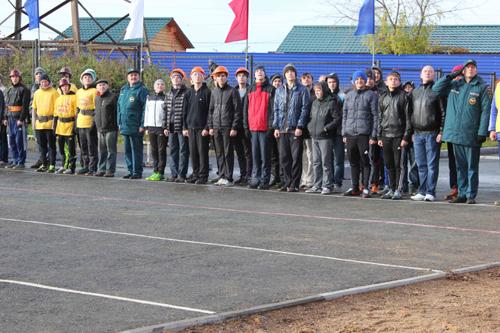 Соревнования по пожарно-прикладному спорту среди дружин юных пожарных общеобразовательных учреждений. Первый день