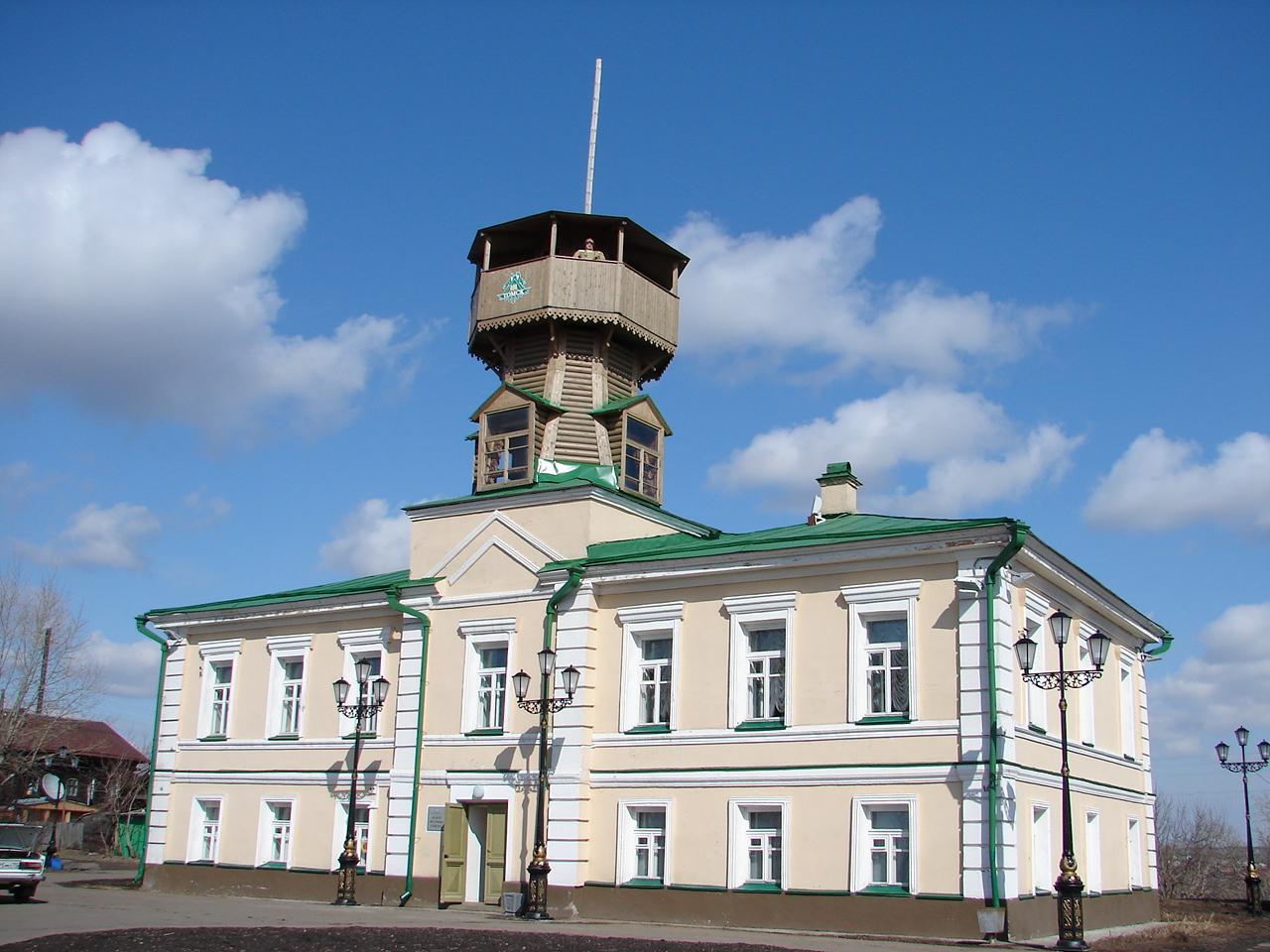 Символ защиты Томска от пожаров