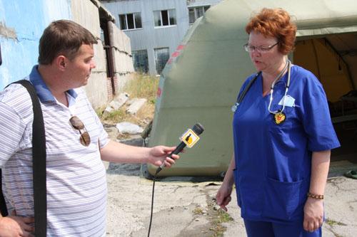 Под Томском развернут мобильный госпиталь Сибирского клинического центра ФМБА России для оказания медицинской помощи участвующим в ликвидации лесных пожаров