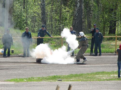 Соревнования по пожарно-прикладному спорту среди детей. Второй день