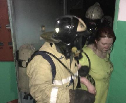 Норильские огнеборцы спасли на пожаре 11 человек