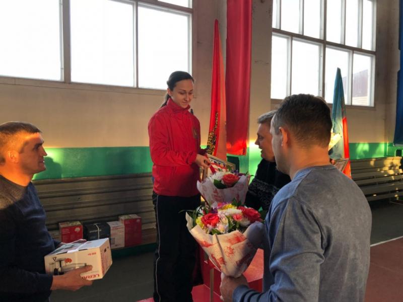 Курсант Сибирской пожарно-спасательной Академии стала серебряным призером в соревнованиях по пожарно-прикладному спорту