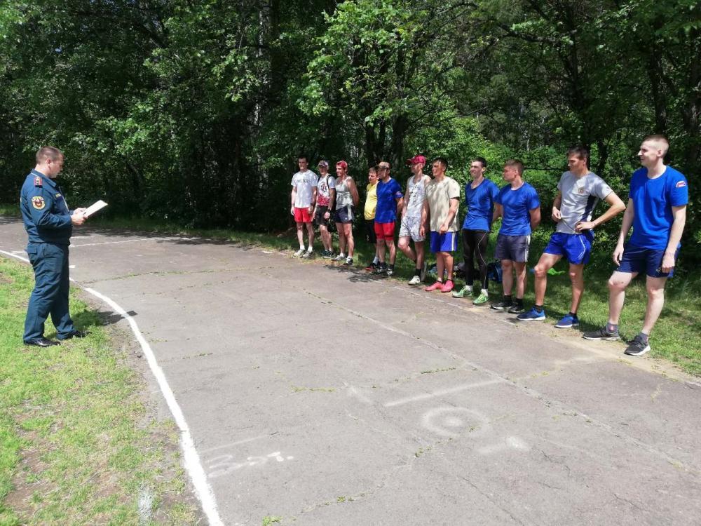 Соревнования по легкой атлетике между подразделениями управления