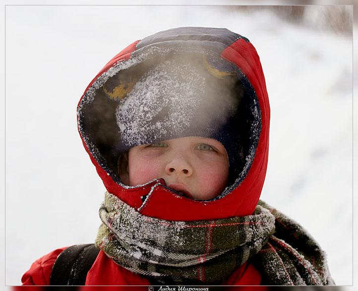 Дети на морозе картинки