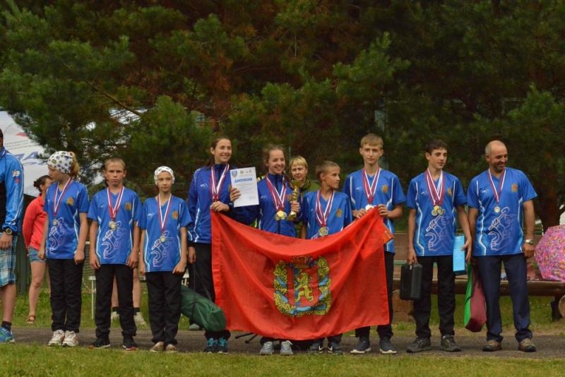 Команда Красноярского края заняла II место в XII межрегиональных соревнованиях «Школа безопасности»