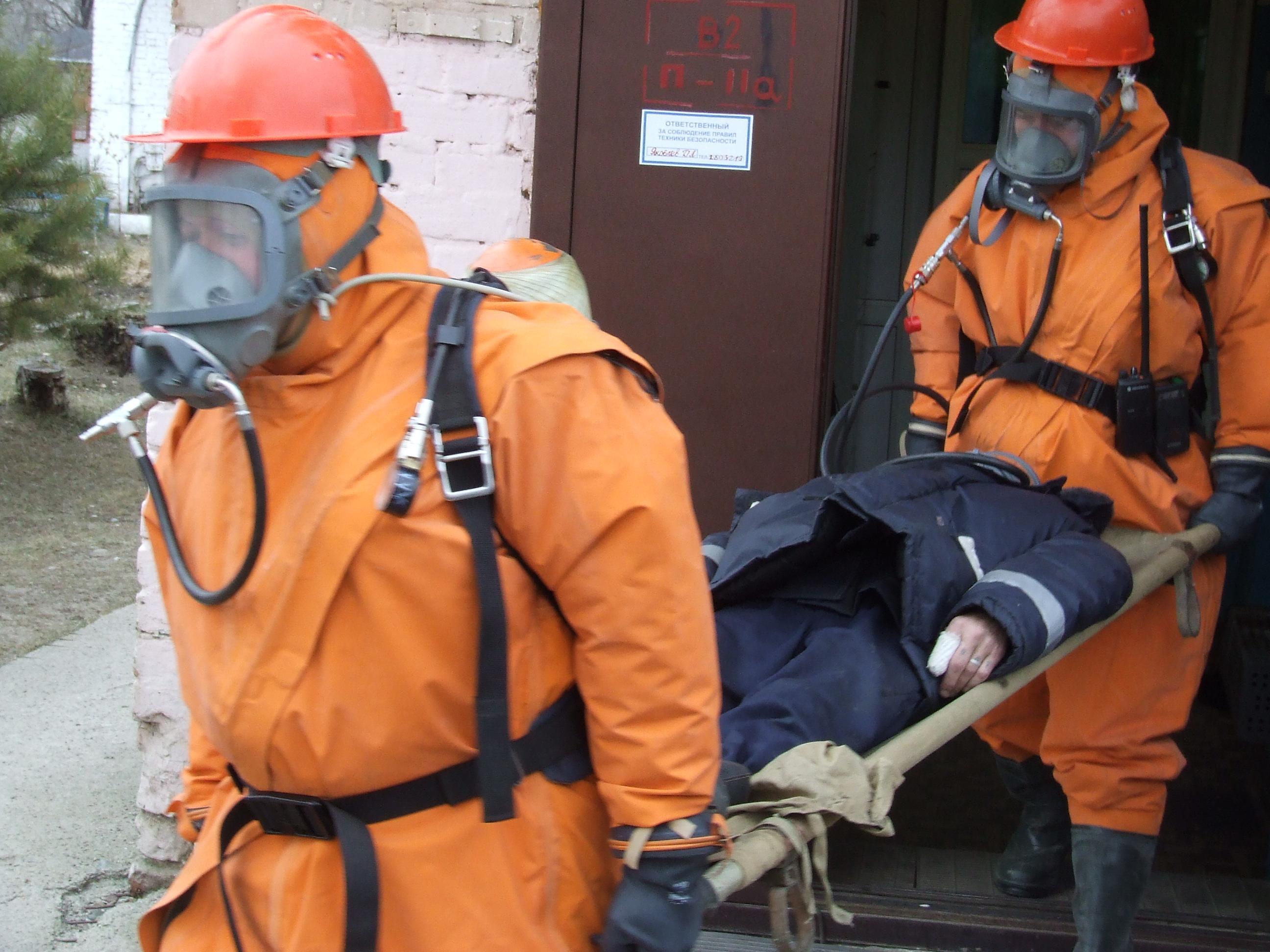 На водозаборе острова «Нижне Атамановский» успешно ликвидирована авария, связанная с утечкой хлора