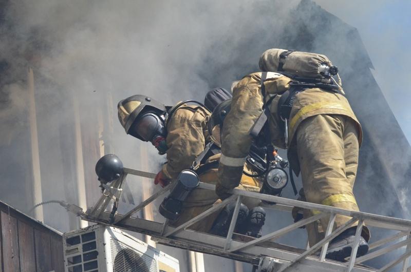 В Абане на пожаре спасены трое детей