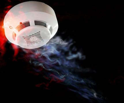 Пожарный извещатель поможет обезопасить дом от пожара