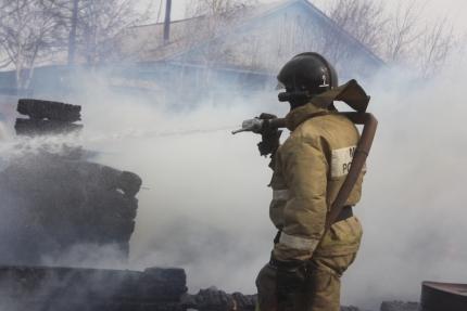 Что делать если пожар возник вблизи населенного пункта?