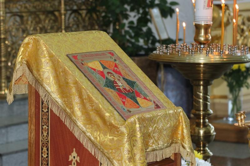 Пожарные Забайкалья почтили икону «Неопалимая Купина»