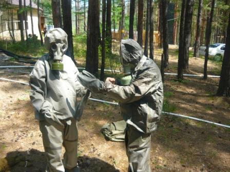 VII  краевой полевой лагерь «Юный спасатель-2015»