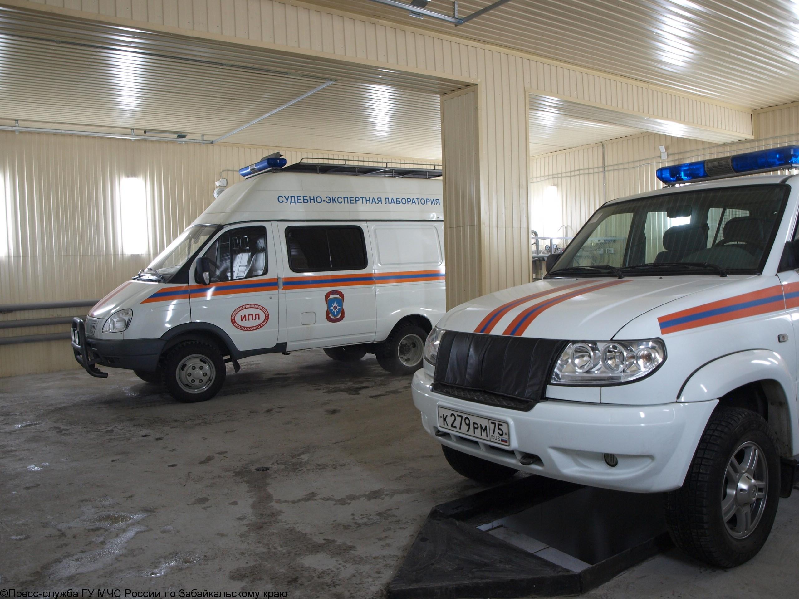 Сотрудники Испытательной пожарной лаборатории – на страже пожарной безопасности забайкальцев