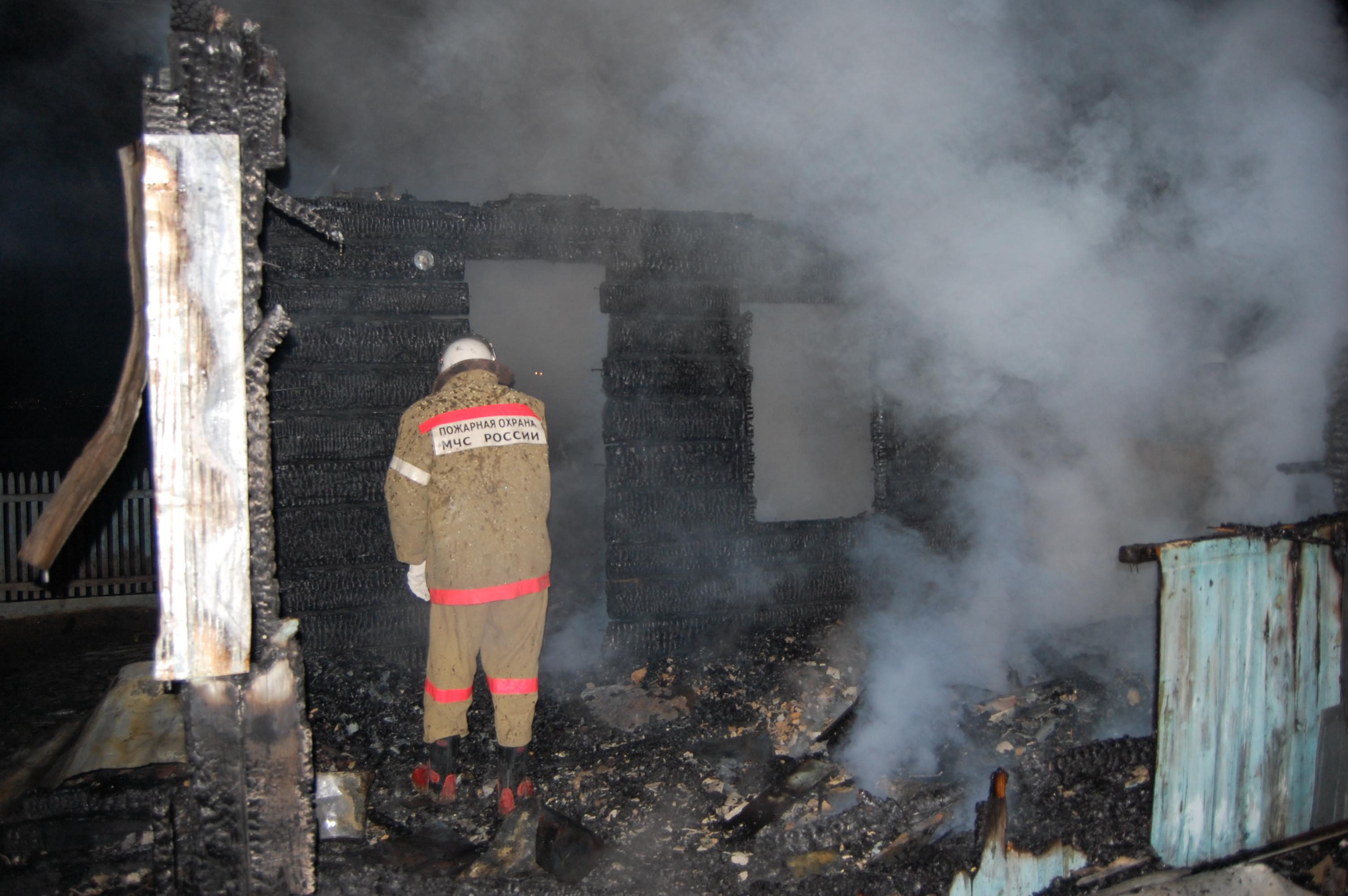 Пожар жилого одноквартирного дома в Шилкинском районе