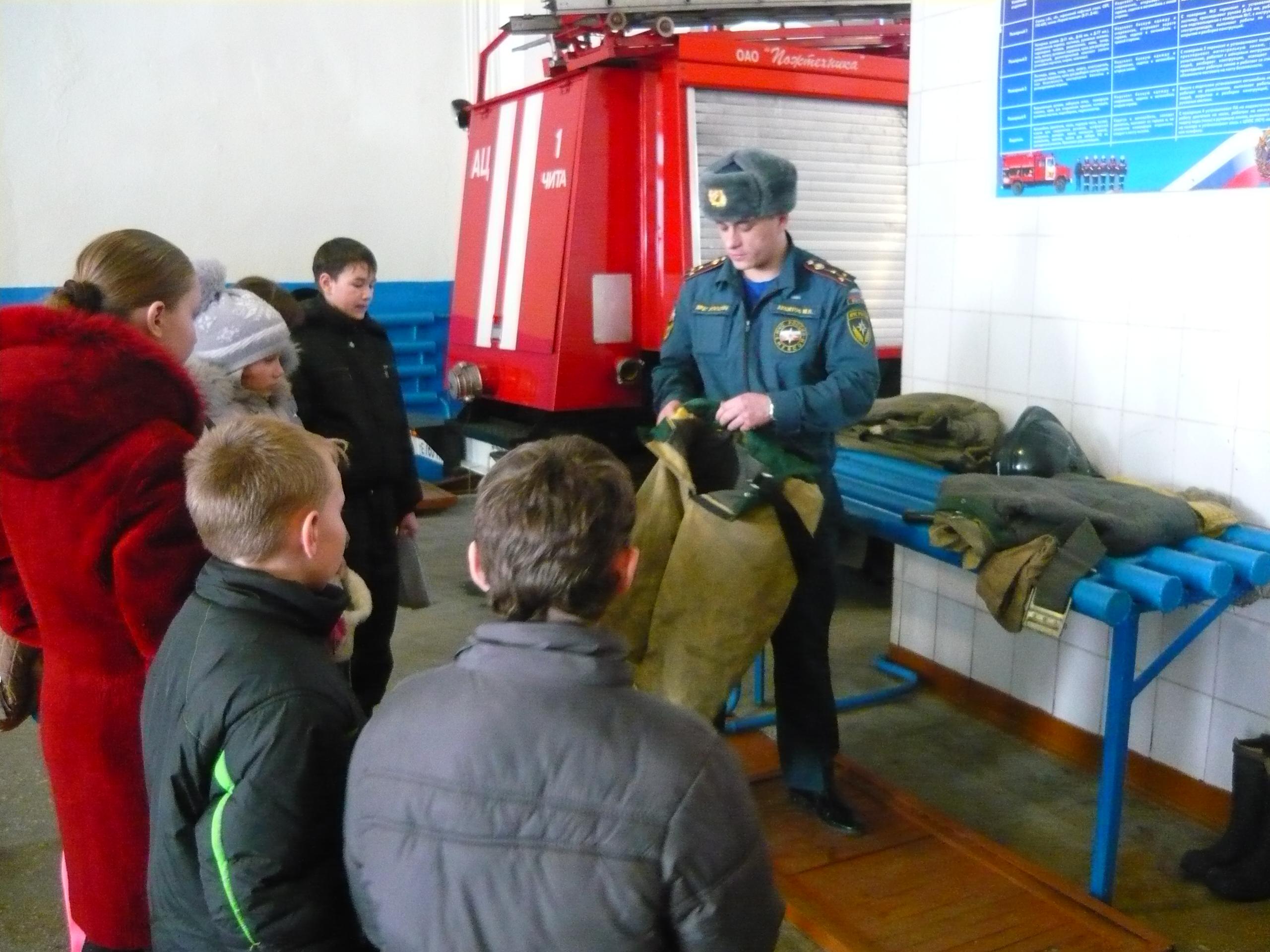 Проведения дня открытых дверей в пожарных частях