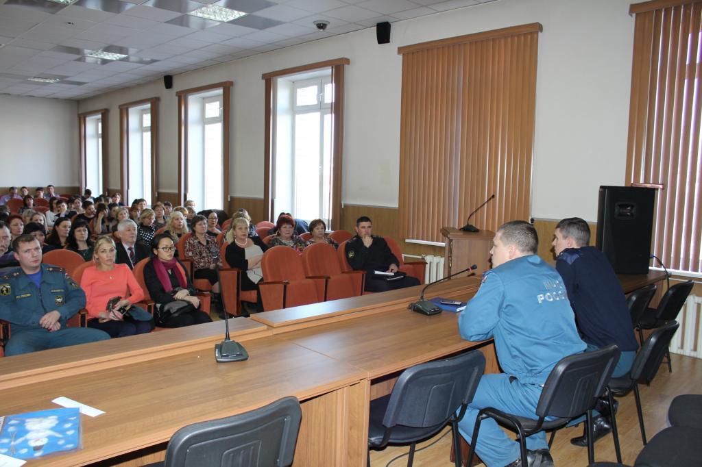 Тренировка по эвакуации персонала в Забайкальском краевом суде