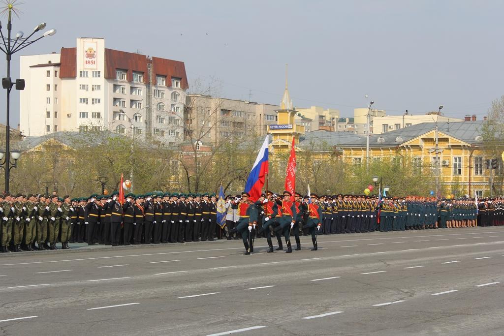 Парад Победы 9 мая 2014