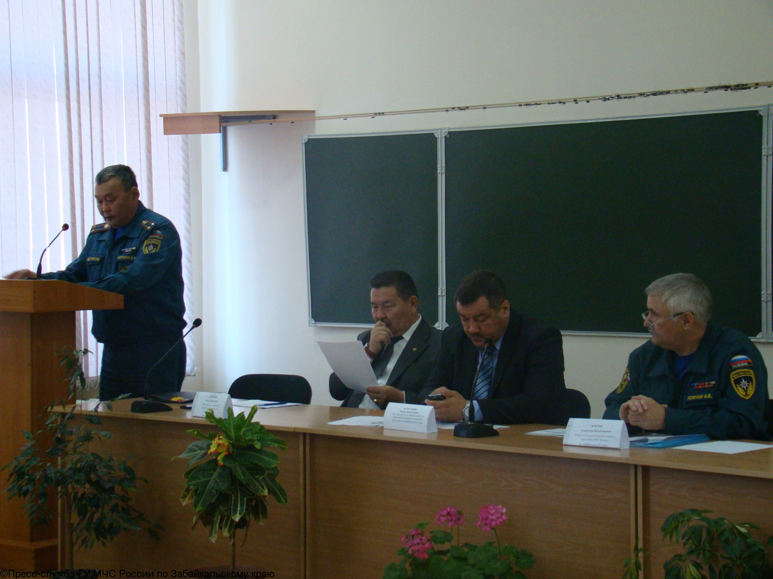 Учебно-методический сбор с участием представителей муниципальных образований по вопросам обеспечения безопасности жизнедеятельности населения в период отопительного сезона 2013-2014 гг.