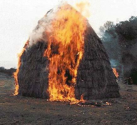Пожар в Приаргунском районе